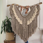 Lucy In The Sky - Colour -  Custom made Macramé Wall Hanger