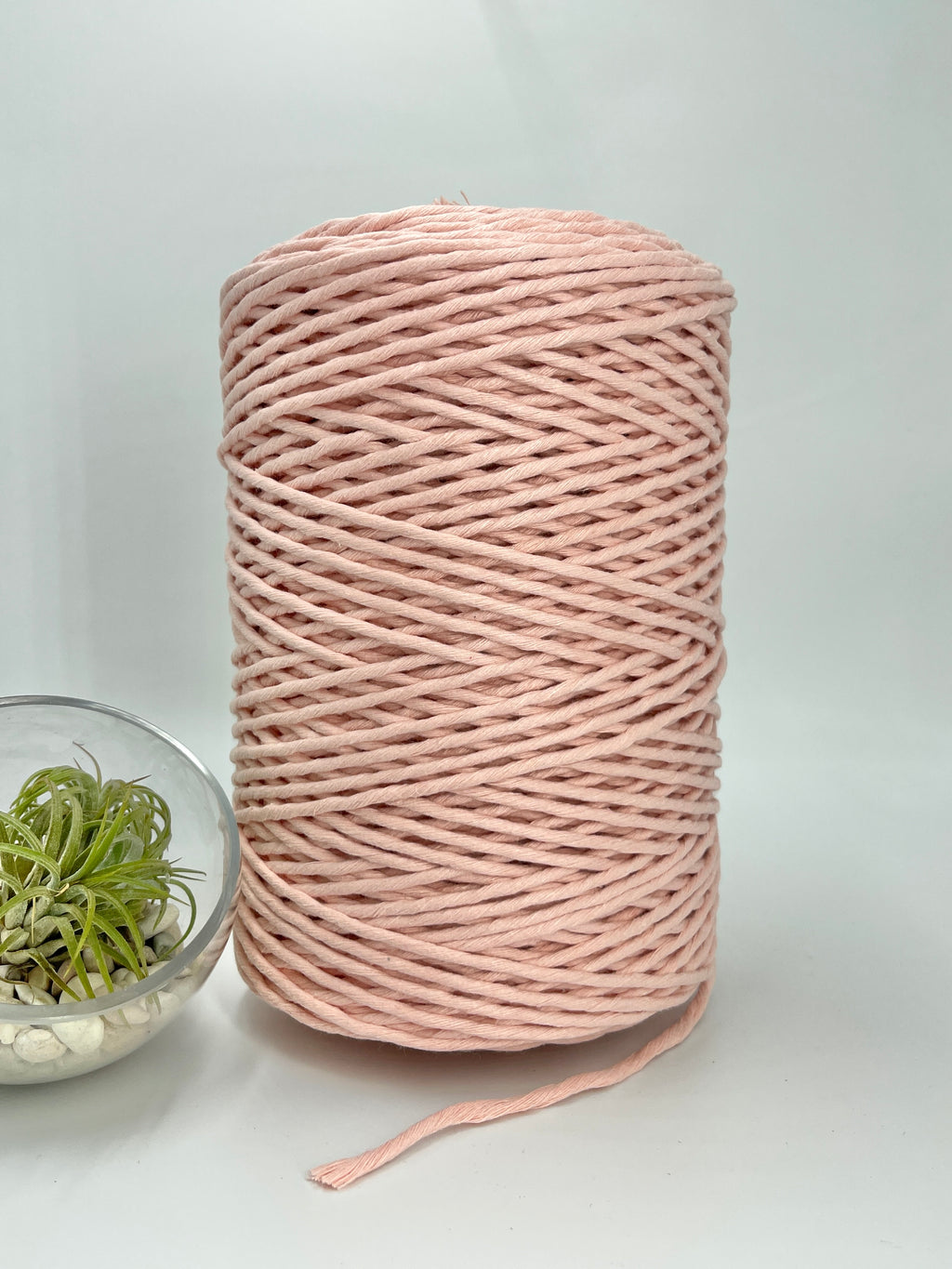 3mm Cotton Macramé String - 1kg - Salmon
