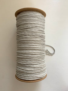5mm 3-Ply Rope - Approx. 300m - Sheer Grey