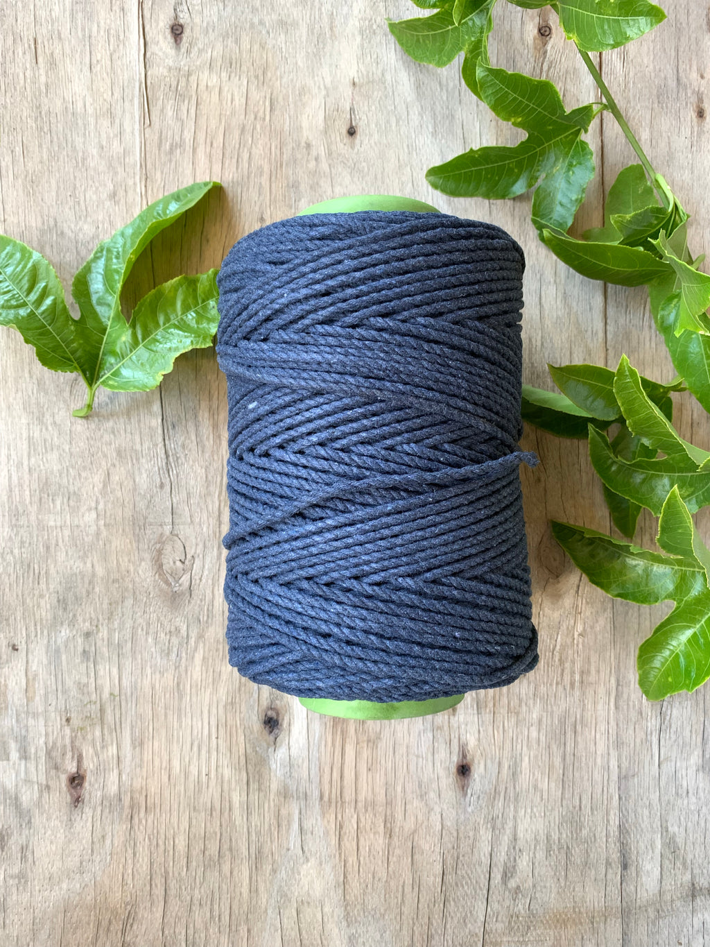 4mm 3ply Rope - Navy - 1kg