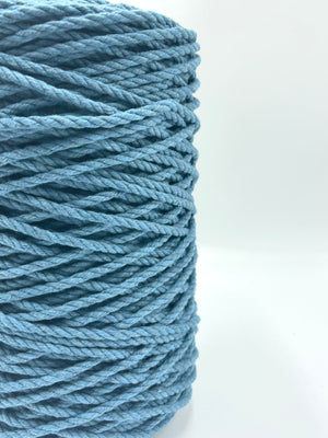 4mm 3ply Rope - Deep Ocean - 1kg