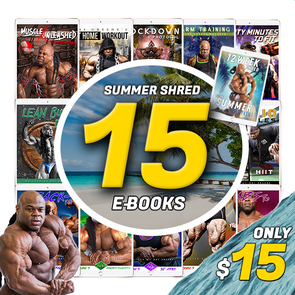 Summer Shred CHALLENGE - 15 E-BOOKS $15