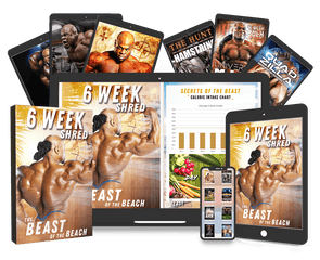 6 Week Shred Program + 9 BONUS E-BOOKS