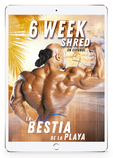6 Week Shred - LA BESTIA DE LA PLAYA