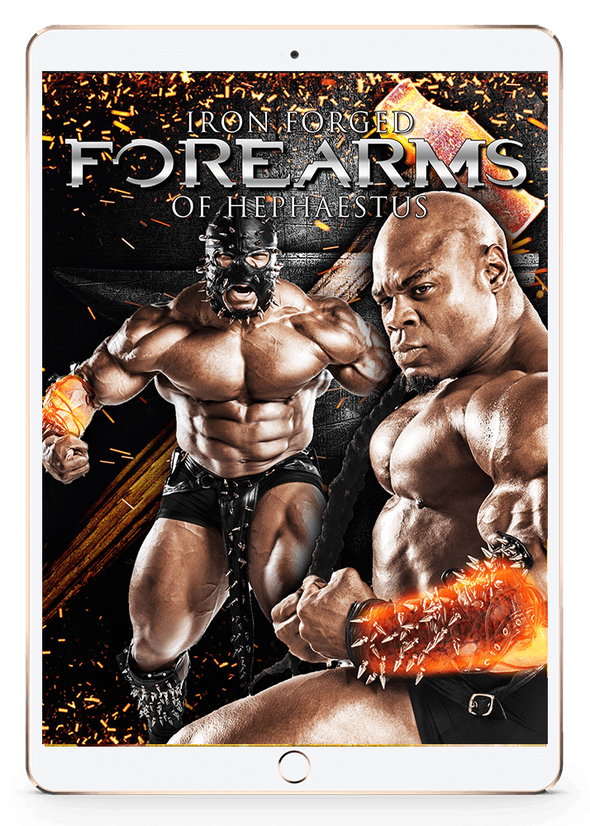 Iron Forged Forearms - of Hephaestus