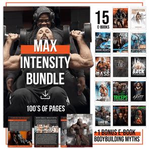Max Intensity Bundle - $15