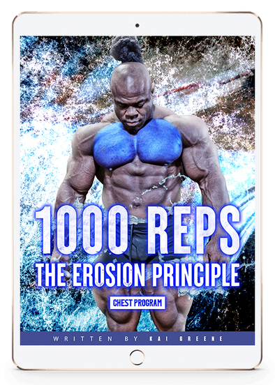 1000 REPS THE EROSION PRINCIPLE - CHEST PROGRAM