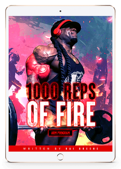 1000 REPS OF FIRE - ARM PROGRAM