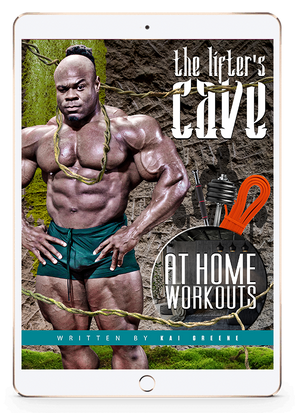 THE LIFTER'S CAVE: A HOME WORKOUT GUIDE