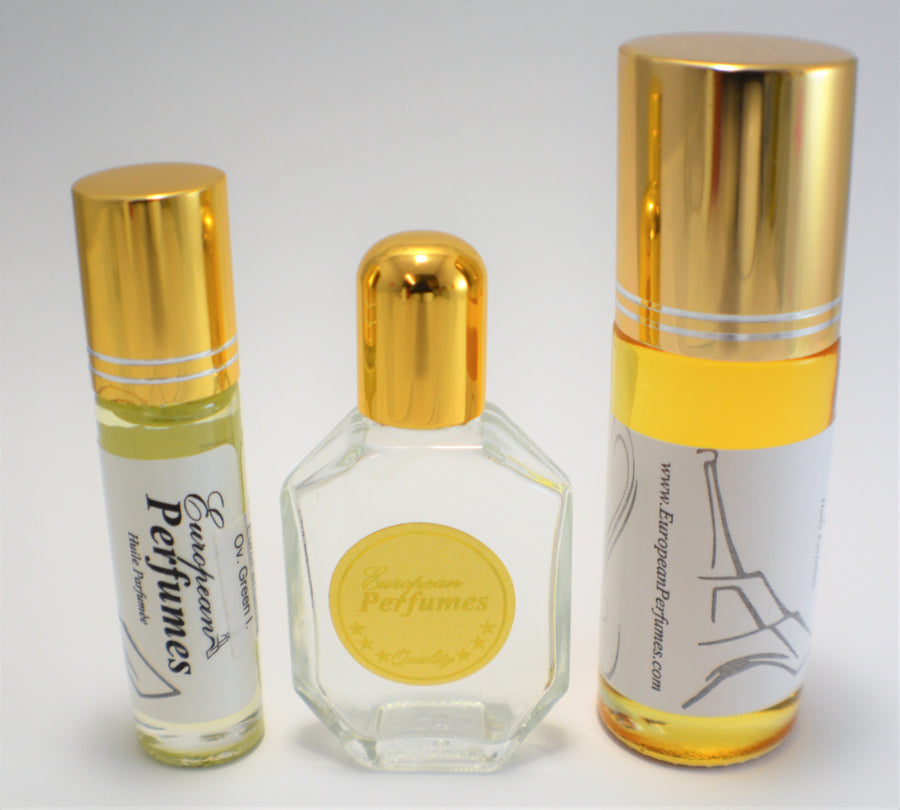 GREEN TEA Type Perfume Oil Women