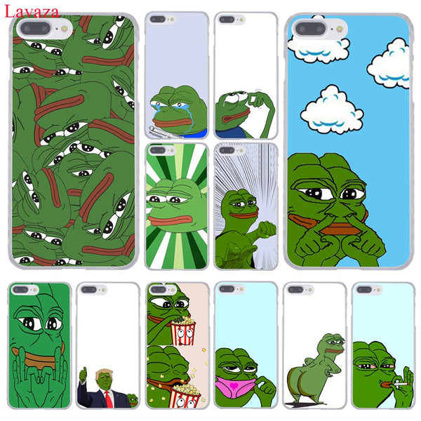 Pepe the frog meme iphone cases