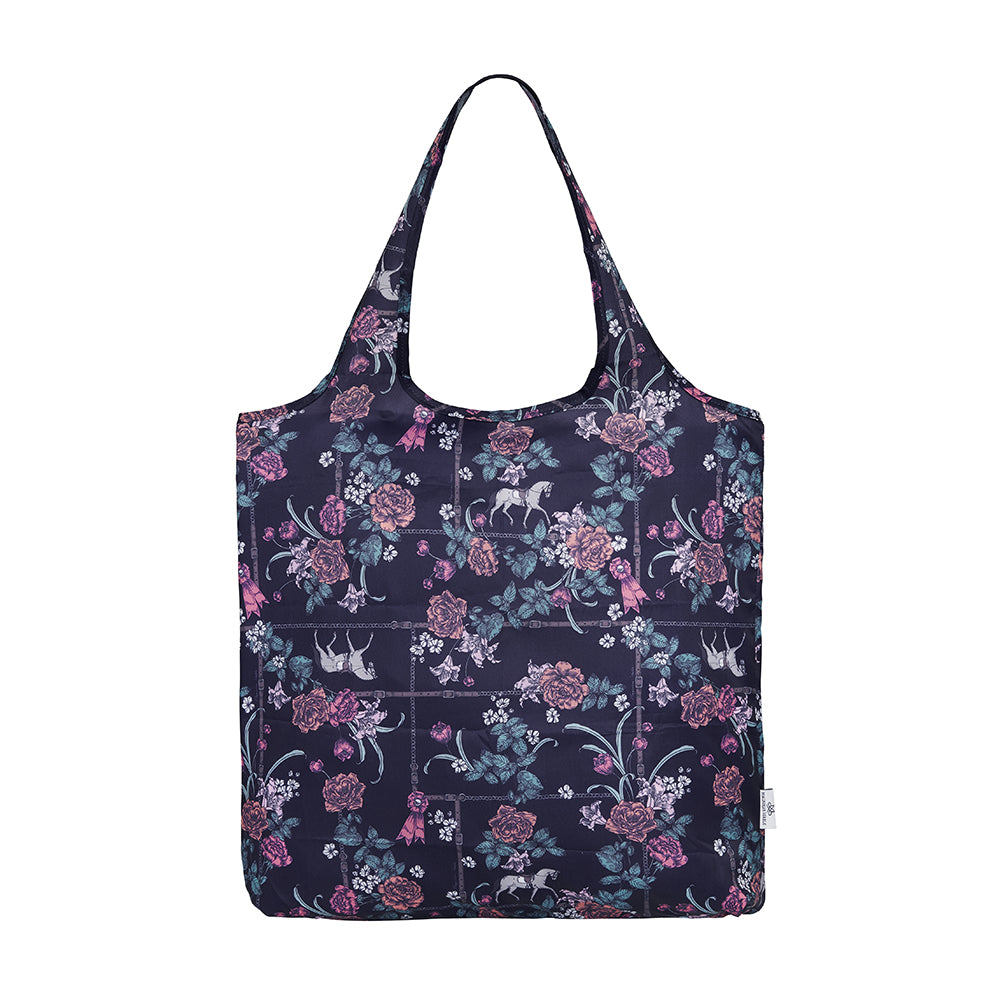 Magnolia Stable Foldable Shopper - Navy