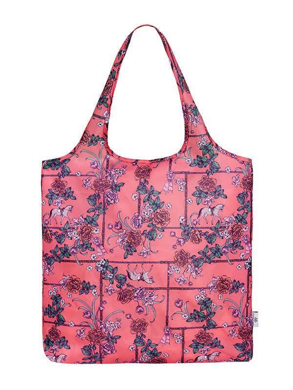 Magnolia Stable Foldable Shopper - Pink