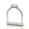 Makebe Wave Stirrup - Silver Dressage