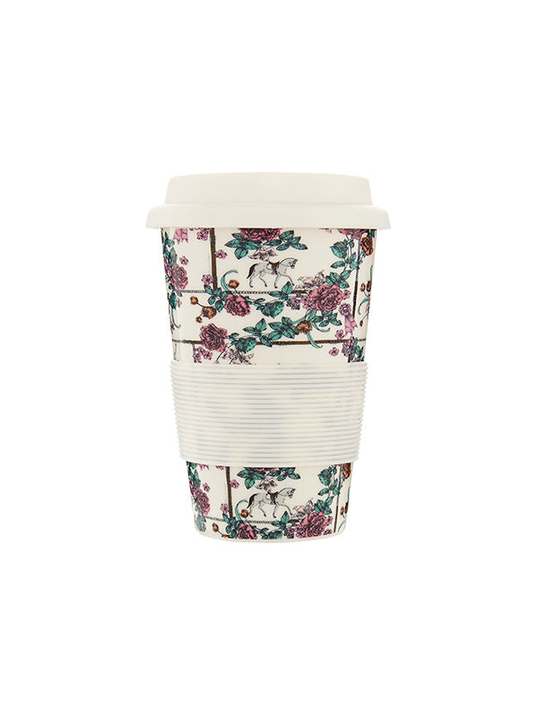 Magnolia Stable Travel Mug - White