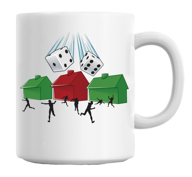 Board Game Doom Mug