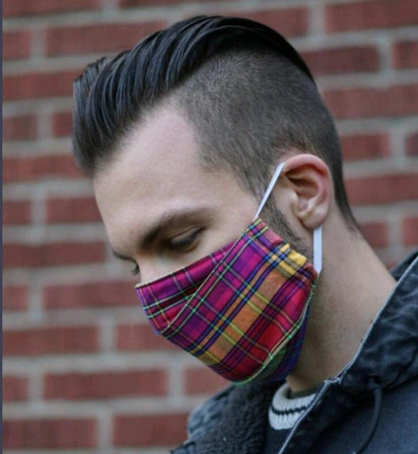 Breathable adult cloth face mask