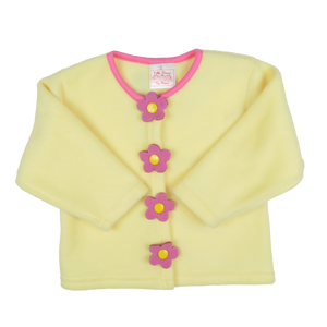 Yellow Fleece Sweater