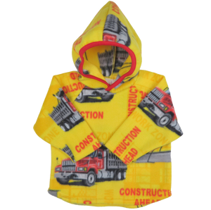 Contruction Ahead Fleece Hoodie