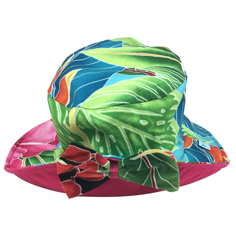 Pink Hawaiian Sun Hat