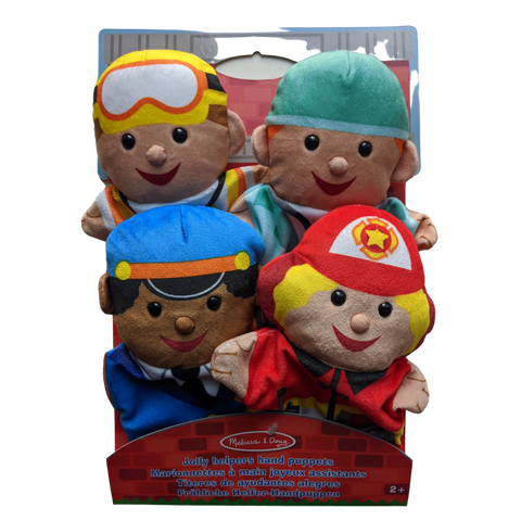 Hand Puppets - Jolly Helpers