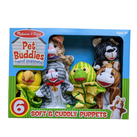 Hand Puppets - Pet Buddies