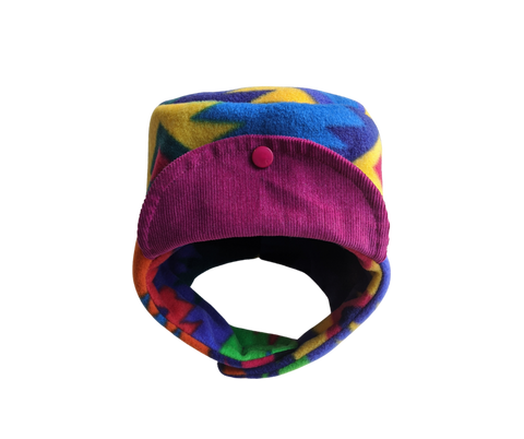 Multicolour Fleece Hat