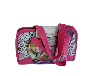 children's colour in handbag purse