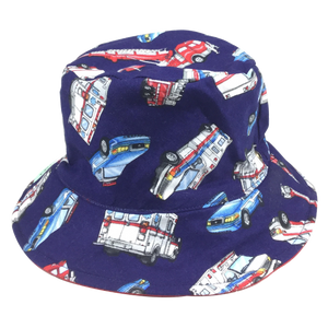 Emergency Vehicle Print Sun Hat