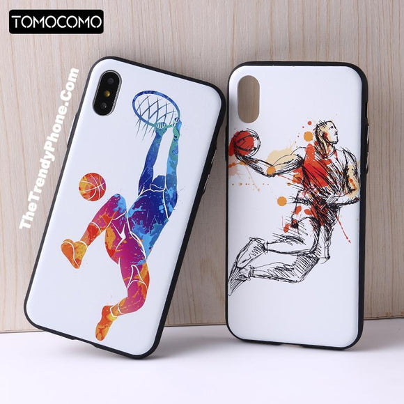 2018 Sport Basketball Phone Case for iPhone - The Trendy Phone