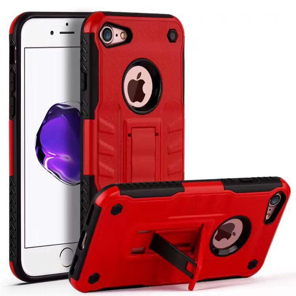 Armor 2 in 1 Combo Defender Stand Holder Case For iPhone - The Trendy Phone