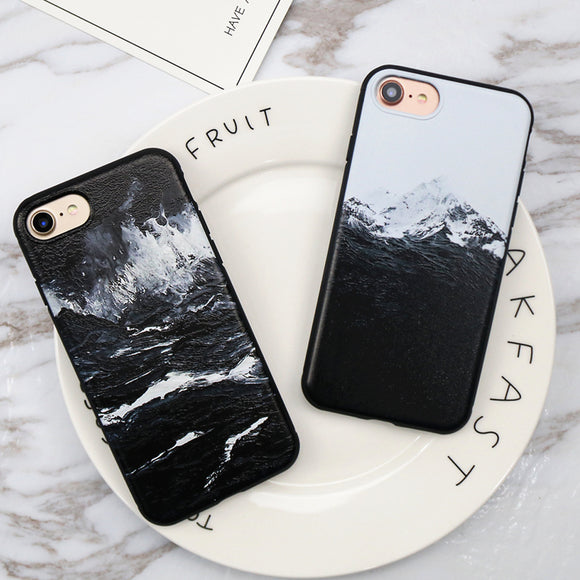 Anti-Knock Mountain Snow Cases for iPhone - The Trendy Phone