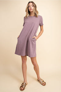Rich Taro French Terry Dress