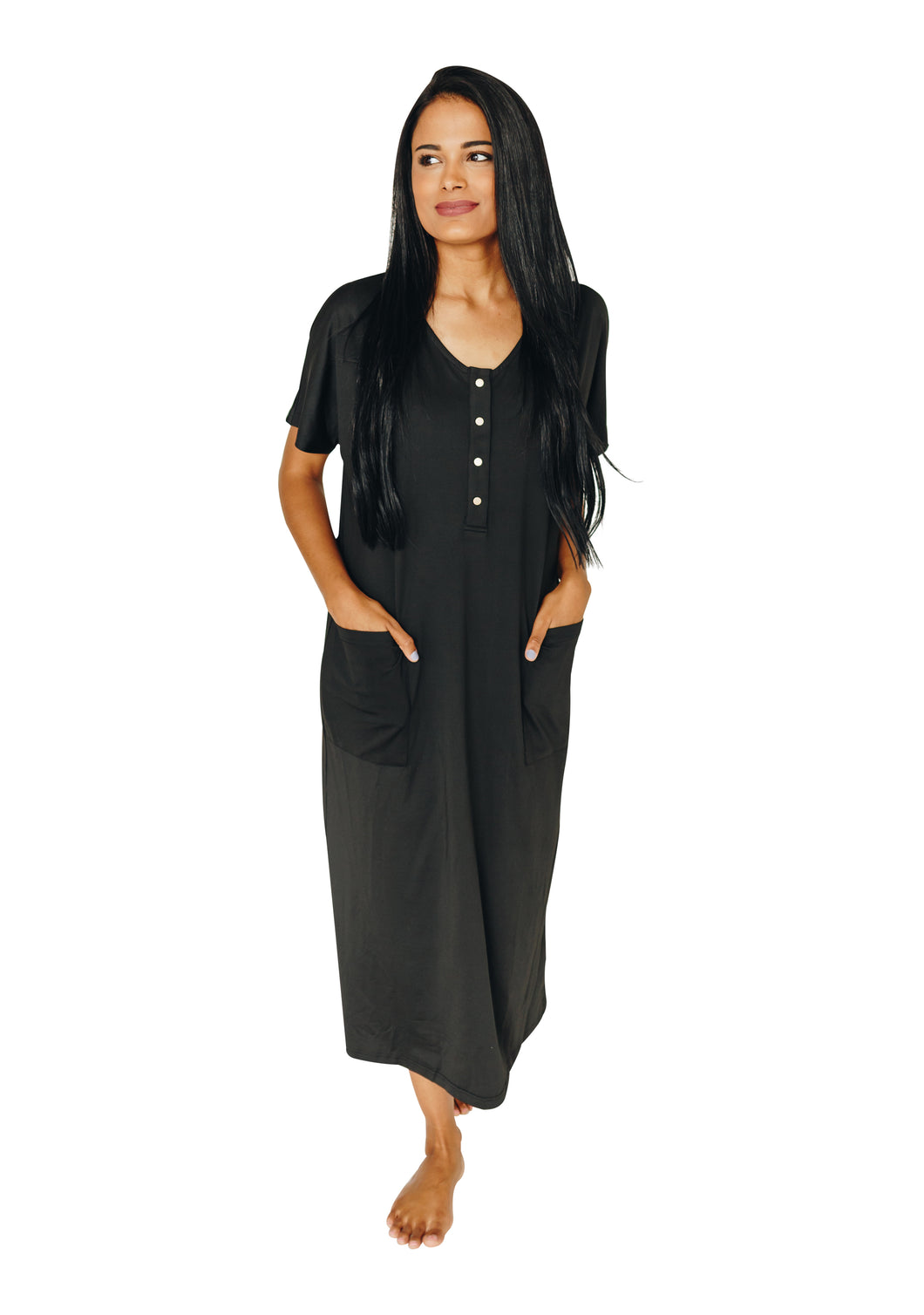Kate Collection (Loose Silhouette Fit) Black