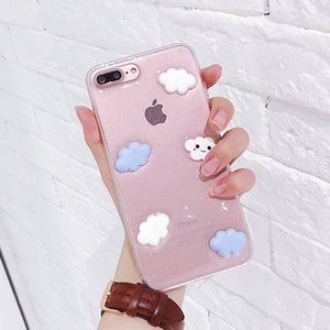 3-D Transparent Clouds Case