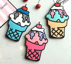 3-D Ice Cream Case