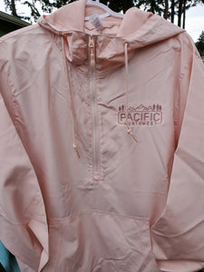 Pacific Northwest Unisex Lightweight Quarter-Zip Windbreaker Pullover