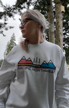PNW sunset Crew sweatshirt