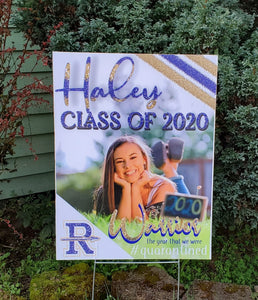 Class of 2021 Yard Sign