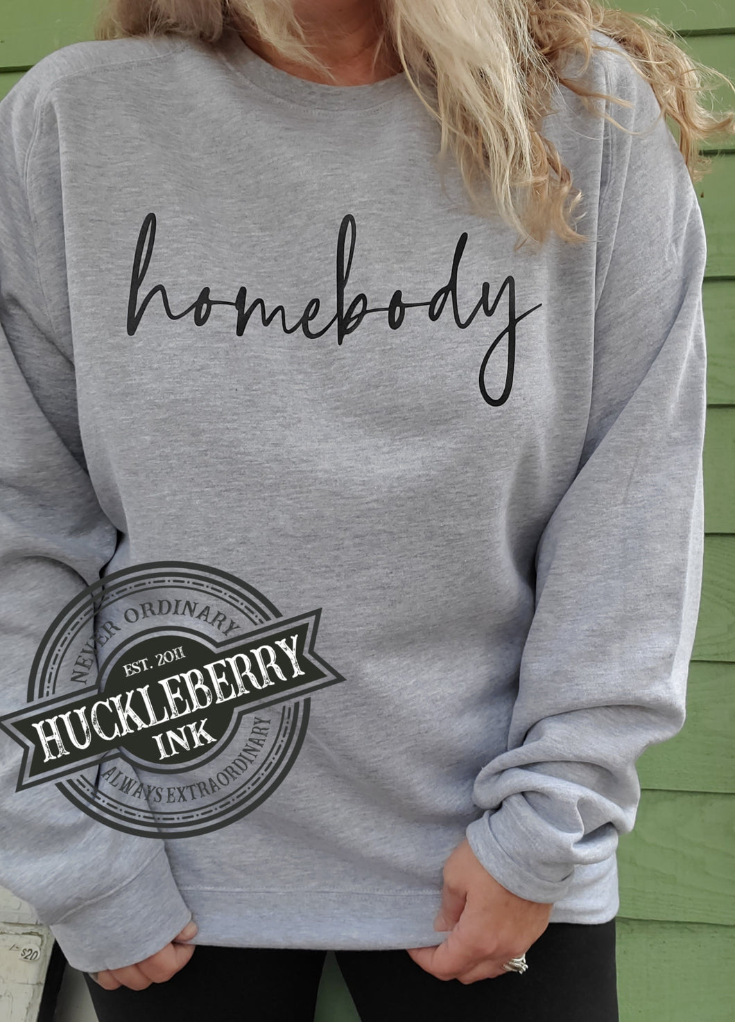 Homebody Crew neck Sweatshirt