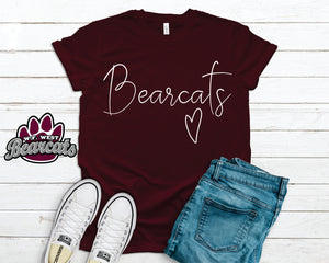 Bella Canvas School Spirit T Shirt