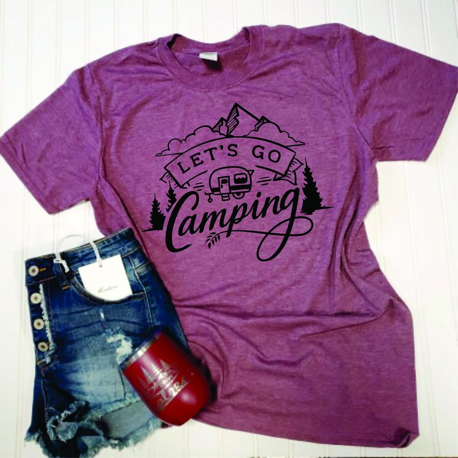 Let's Go Camping T-Shirt