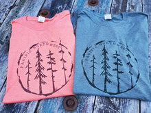 PACIFIC NORTHWEST Tree T shirt