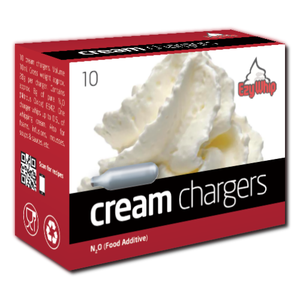 Ezy Whip™ Whipped Cream Chargers 10/50/10/200 x Pack | Beer Bongs Australia
