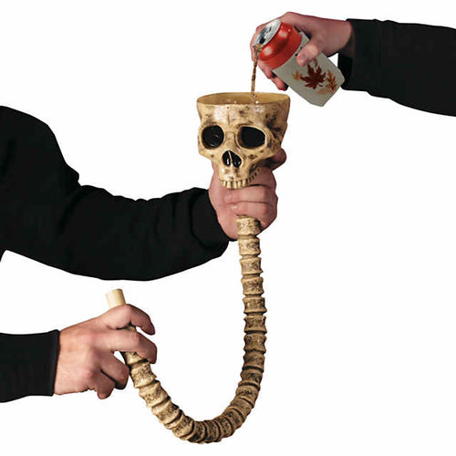 Skull/Skeleton Beer Funnel - Beer Bongs Australia