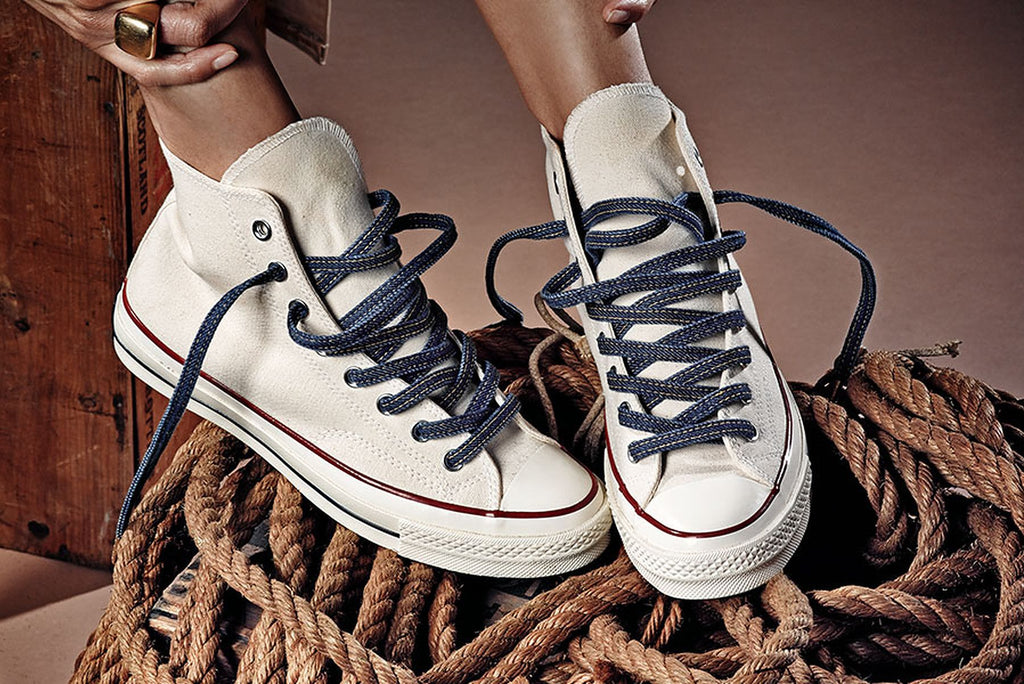 Denim Premium Shoelaces - SNEAKERHEADSCLOTHINGLINE