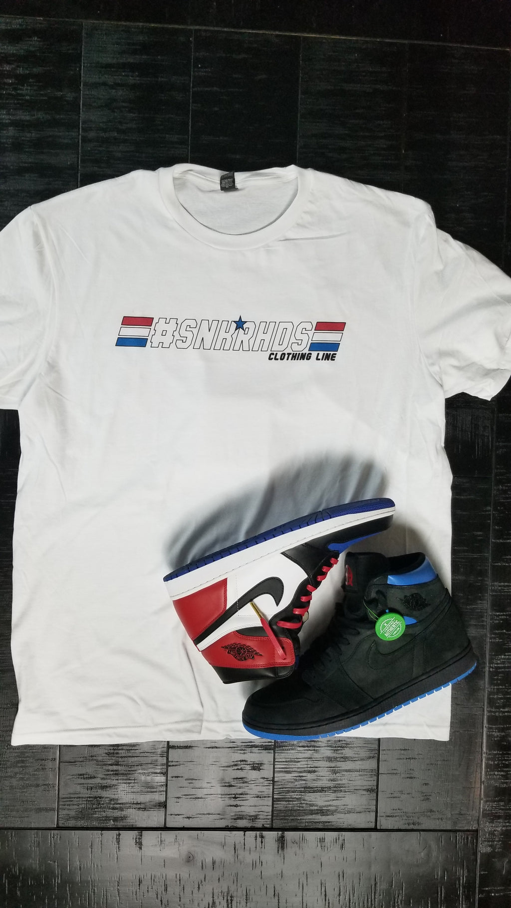 "#SNKRHDS ""GI JOE"" Tshirt - SNEAKERHEADS CLOTHING LINE"