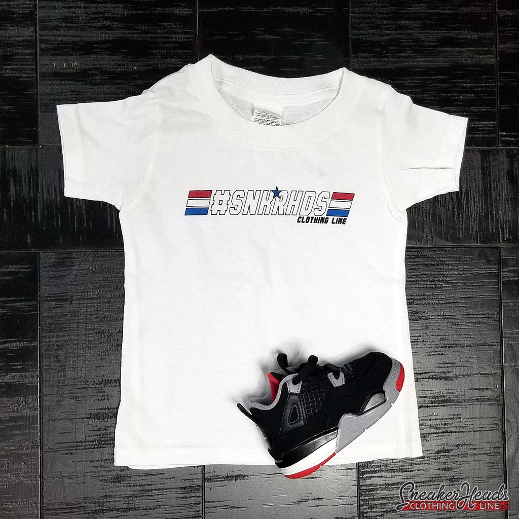 "Kids #SNKRHDS ""GI JOE"" Tshirt - SNEAKERHEADSCLOTHINGLINE"