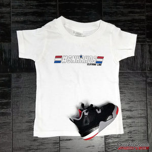 "Kids #SNKRHDS ""GI JOE"" Tshirt - SNEAKERHEADS CLOTHING LINE"