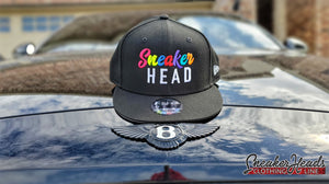 "Exclusive ""SNEAKERHEAD"" LE Snapback (NewERA/59FIFTY Collaboration) - SNEAKERHEADS Clothing Line"